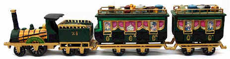 Dept 56 - The Flying Scot Train - 5573-5